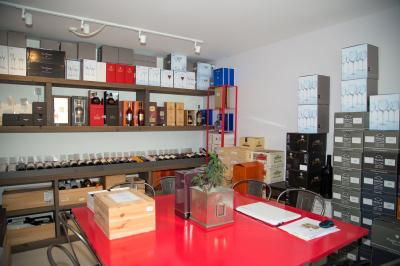 Private tasting area