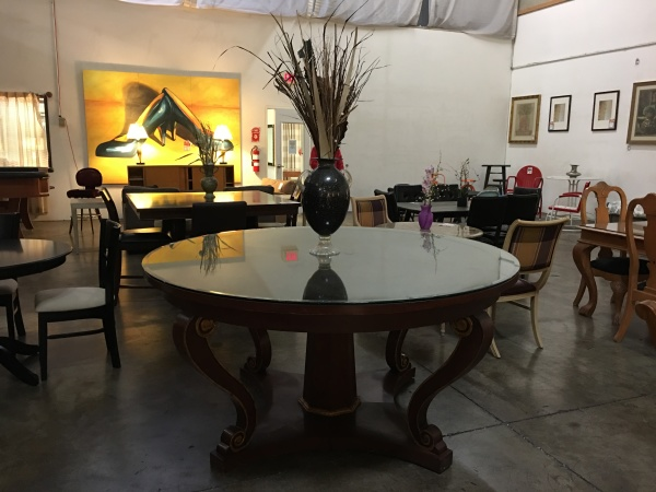 "Lobby Table 72"" round"