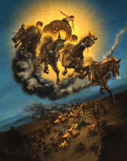 The Math of Music - Phaethon's Ride
