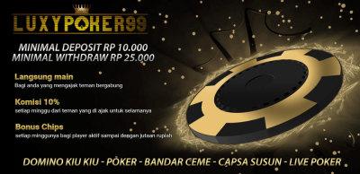 Agen judi poker online terpercaya indonesia