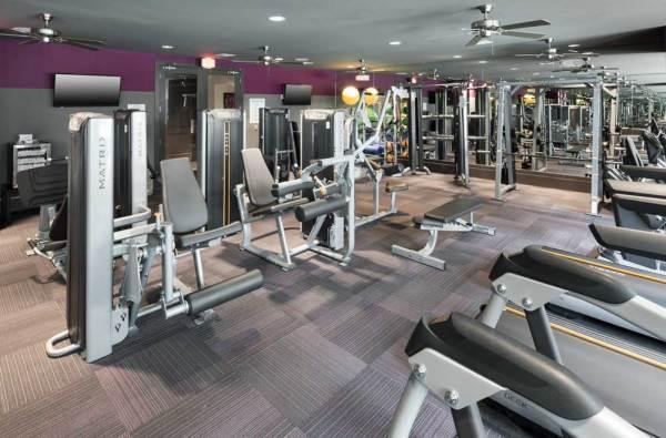 24-hour Fitness Center