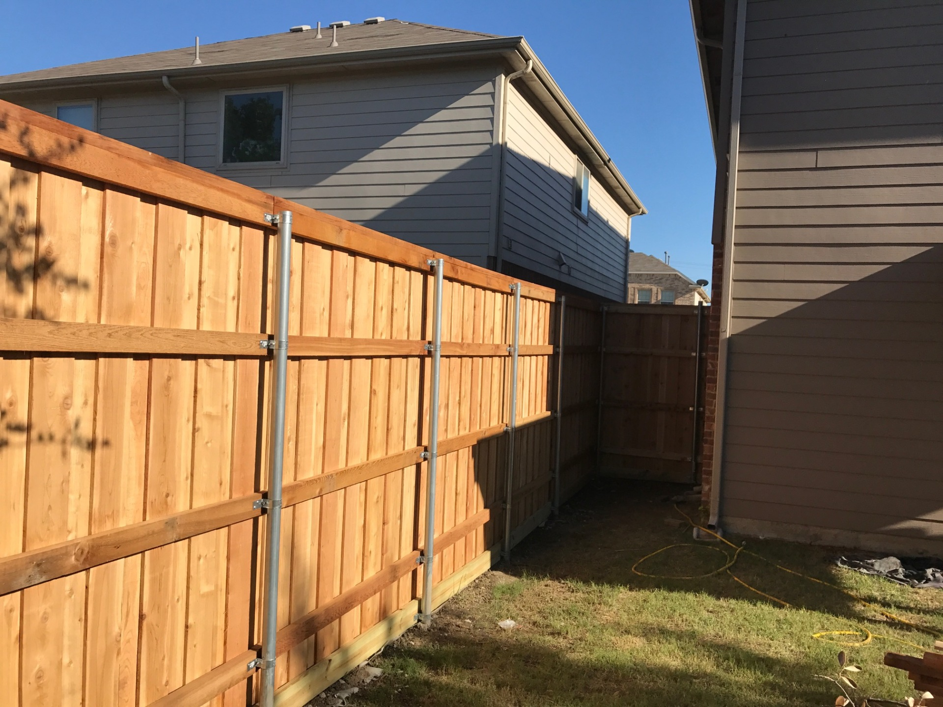 Fence Repair and Staining