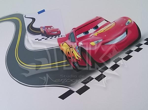 mini mural cars