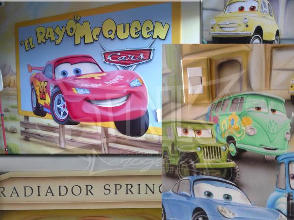 mural cars