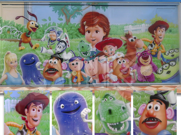 toy story fachada