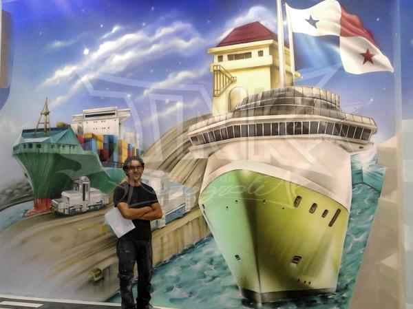 mural en panama