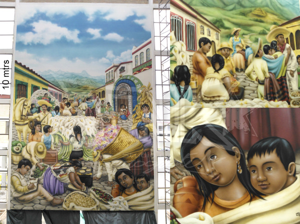 mural gigante