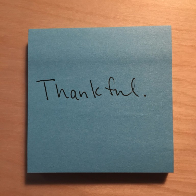 A narrative of thankfulness