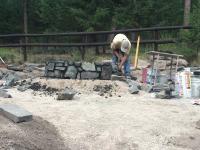 building fire pit
