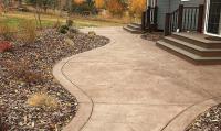 decorative concrete sideway