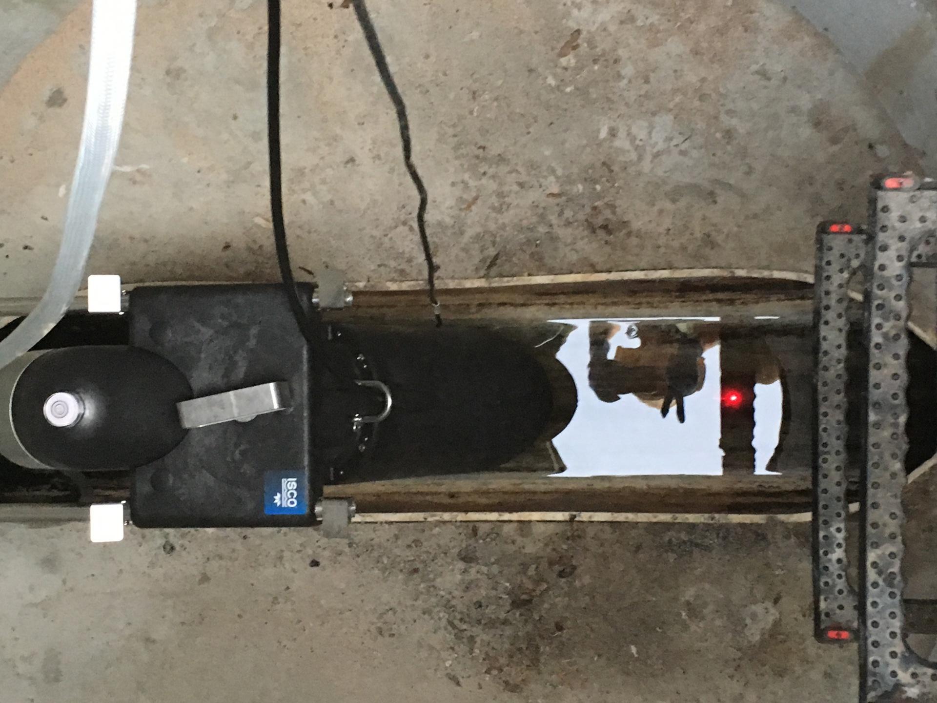 Isco Laser Flow Meter