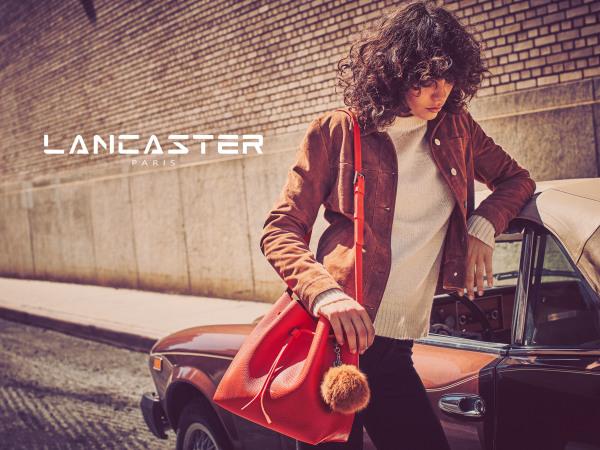 lancaster paris, leather handbags, leather goods, European handbags