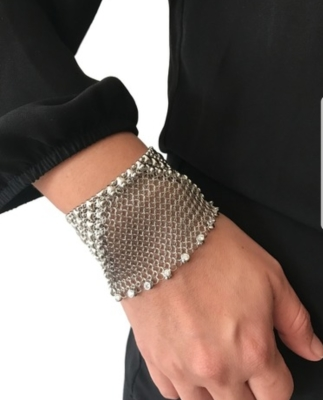 liquid metal jewelry, sergio liquid metal, mesh jewelry, fashion jewelry