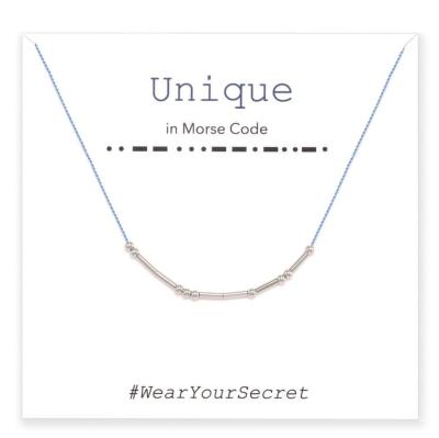 Morse code jewelry, fashion jewelry, dainty jewelry