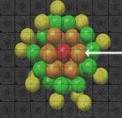 Lawrence Berkeley National Laboratory Gold Nanoparticle