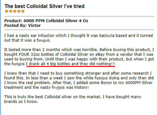 Colloidal Silver Review