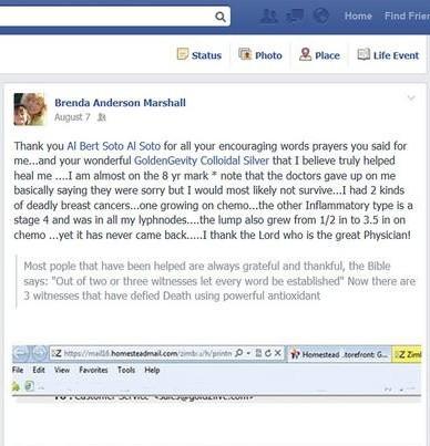 Brenda Additional Testimonial
