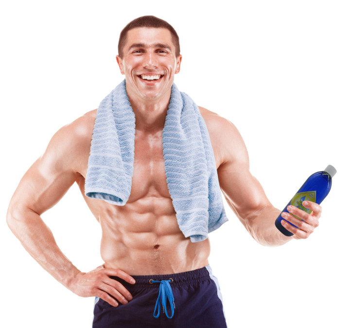 Athlete with High PPM Colloidal Gold