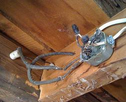 Home inspections always include thorough electrical inspection.
