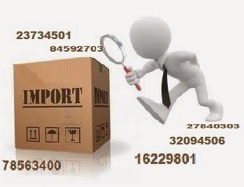 Prueba de legalización de mercancía importada?