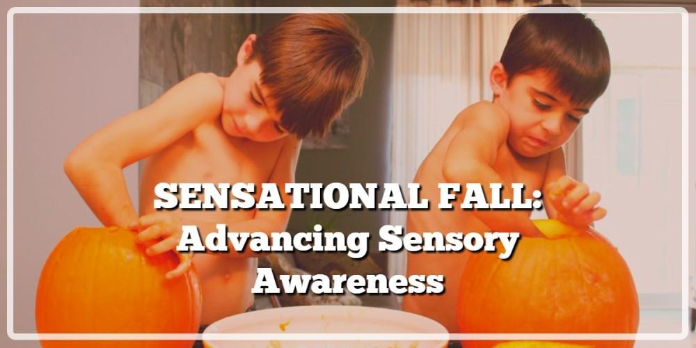 SENSATIONAL FALL:  Advancing Sensory Awareness
