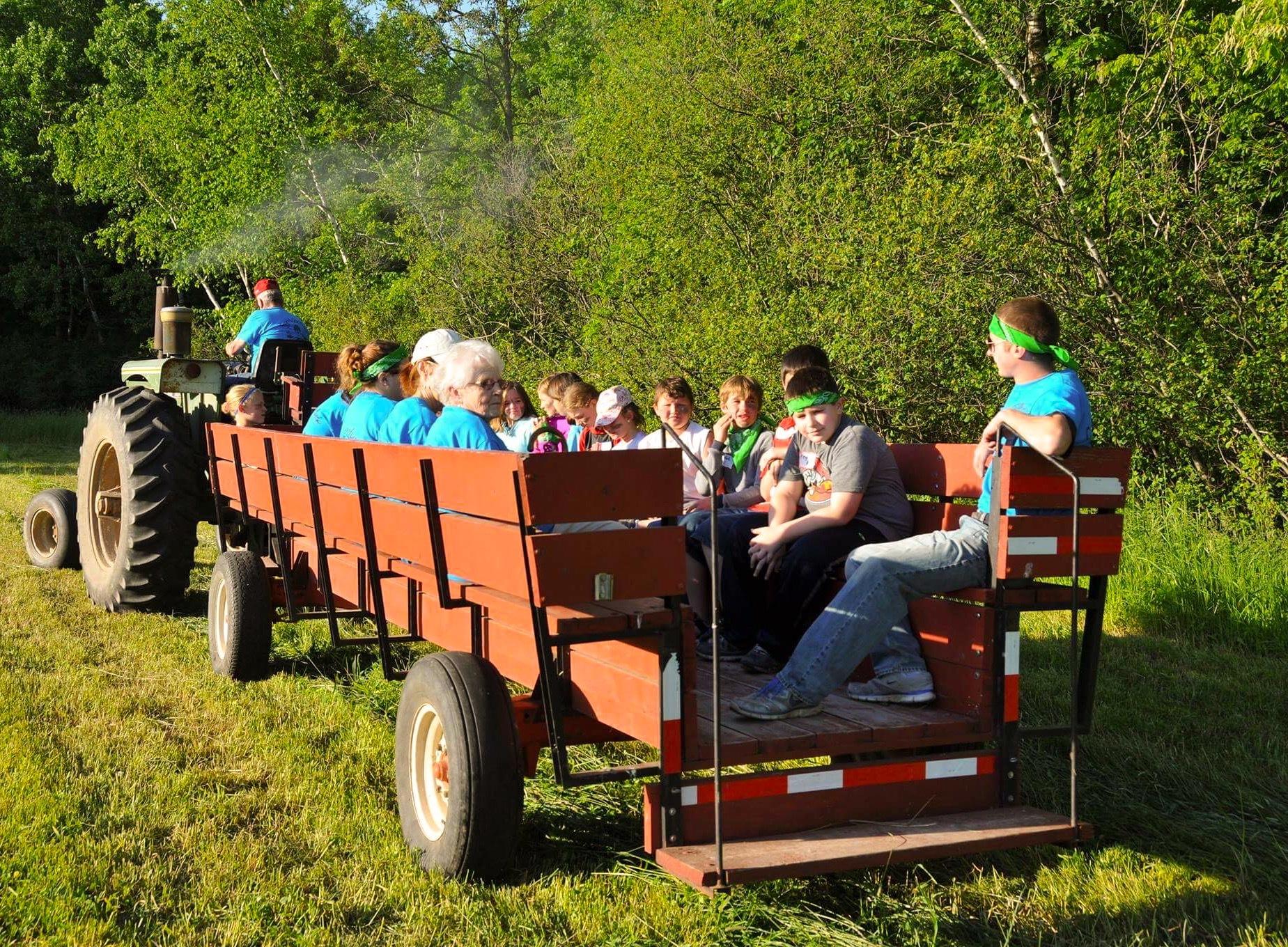 Farm Style Limo Ride