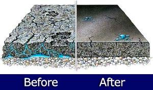 Concrete repairs and installs.