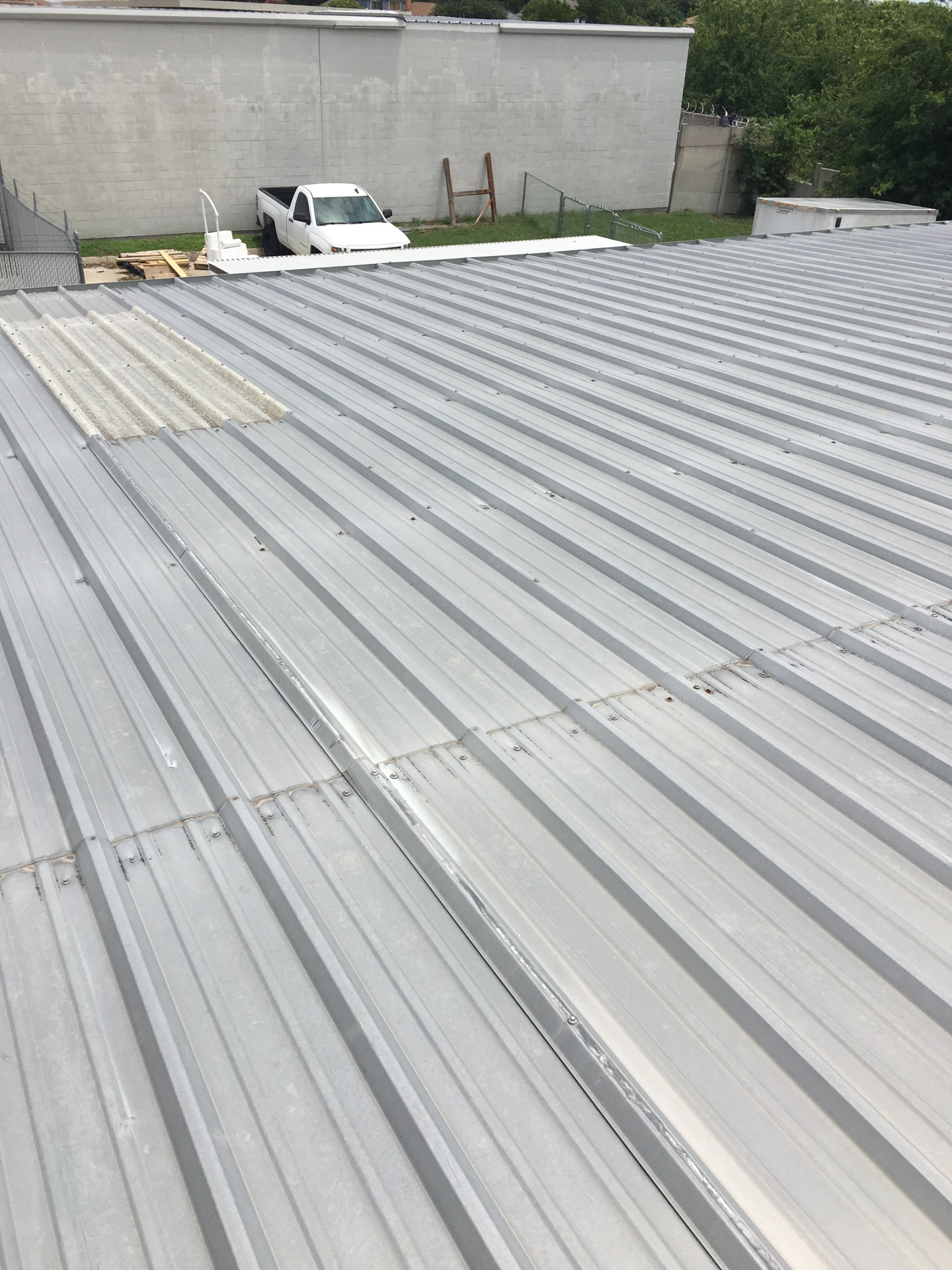 Metal roof systems.