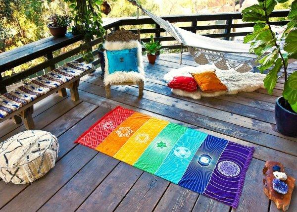 "alt= ""chakra tapestry yoga meditate"""