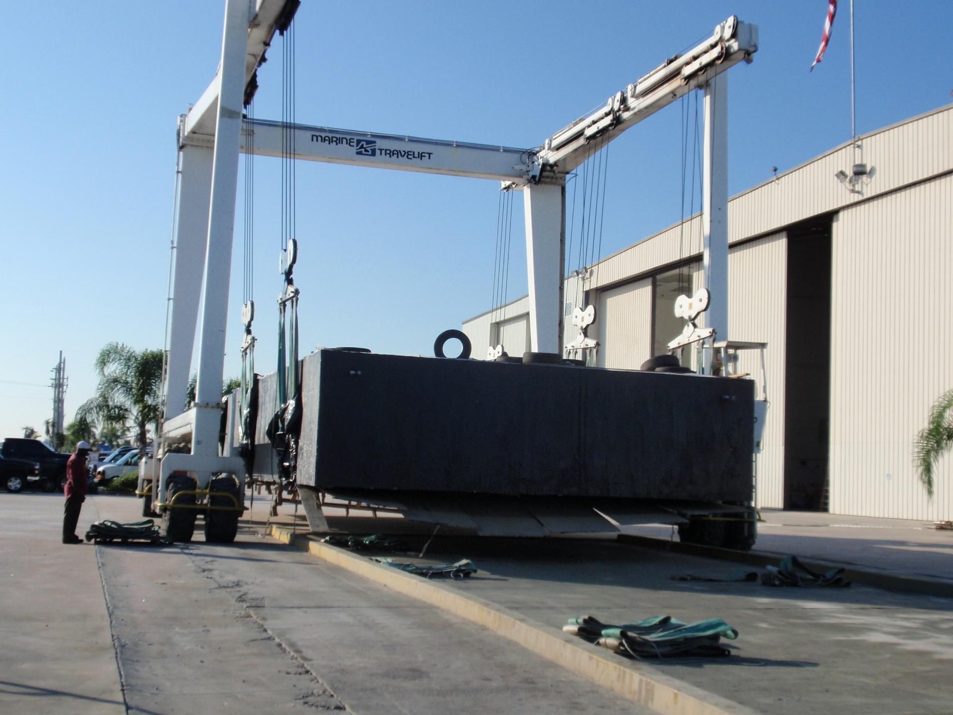 150 ton hull