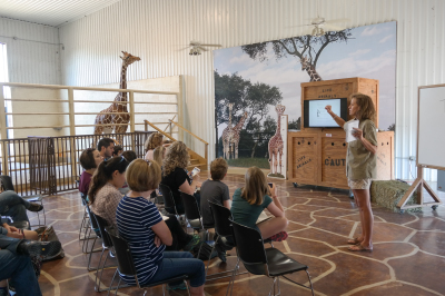 Natural Bridge Wildlife Ranch - Giraffe Ambassador Program