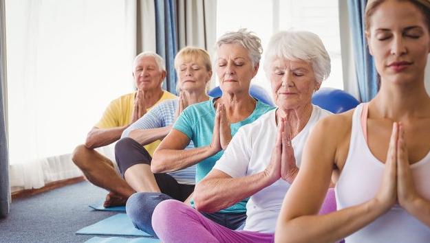 Senior and Gentle Yoga