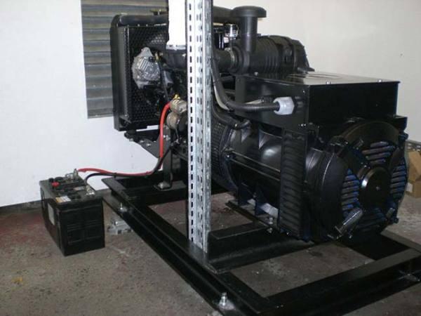 Generator installed by GEMS