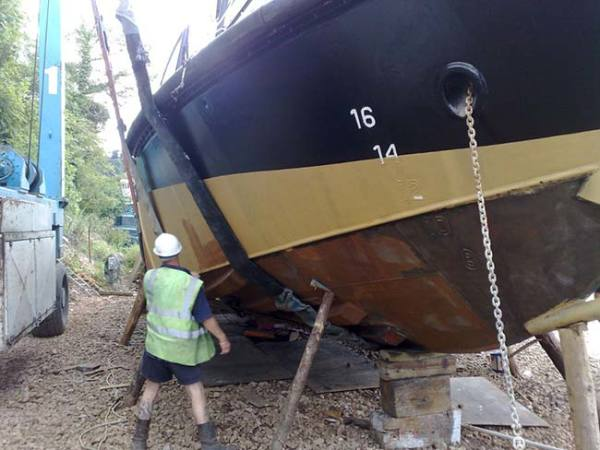 Hull inspection by GEMS