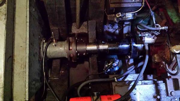 New propshaft for a local trawler