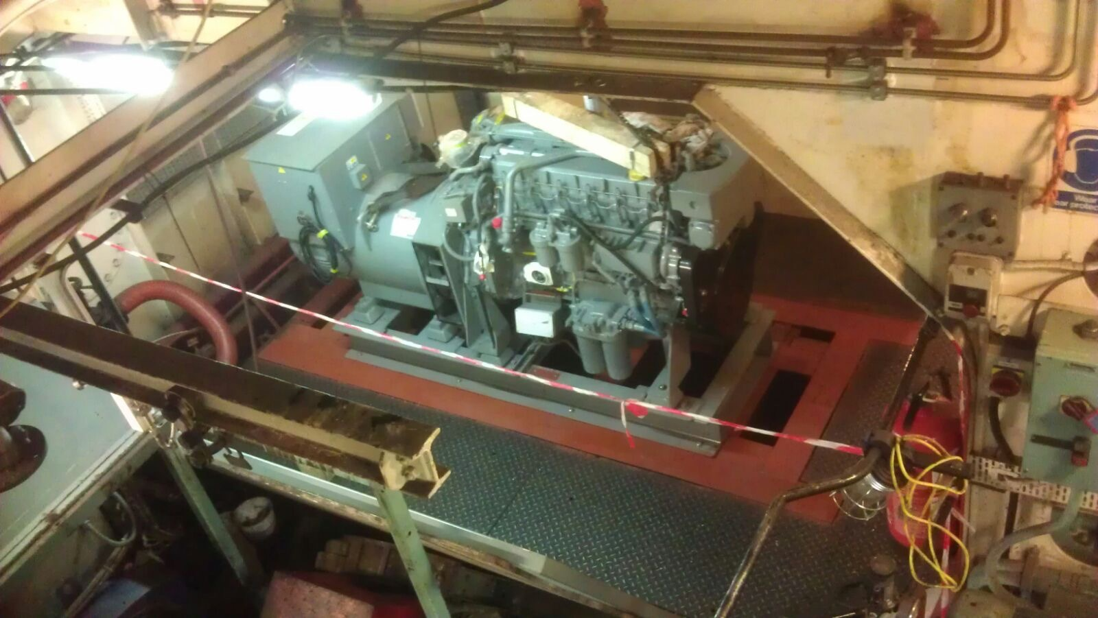 After - New Marine Genset installed