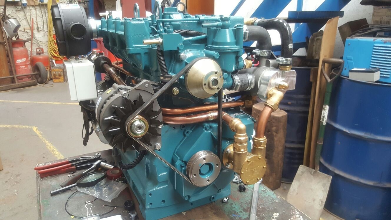 Engine Marine Conversion - ongoing project for Lister Petter
