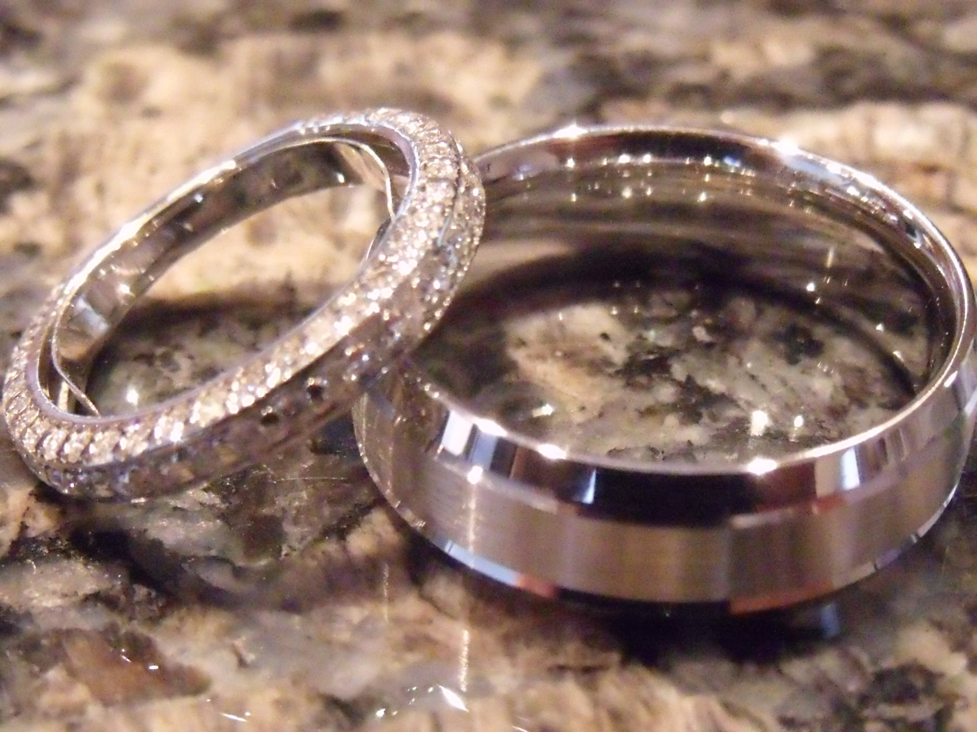 His and Her Wedding Bands