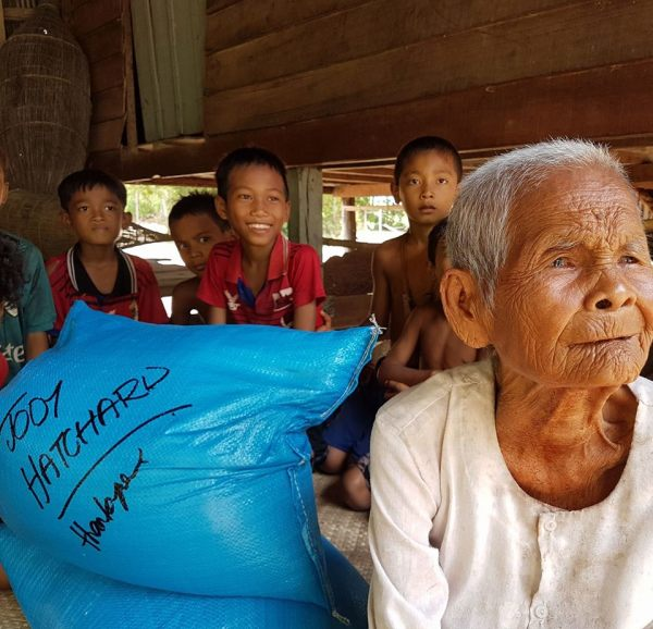 Bringing relief to families in rural Cambodia
