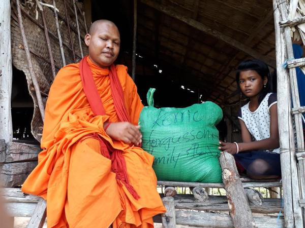 Village Rice Distribution