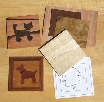 Coaster Marquetry Kit