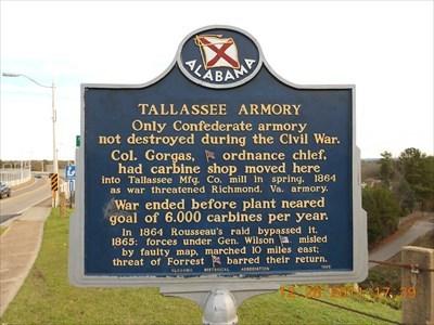 Tallassee Armory Landmark