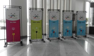 BRANDING DISPLAYS AND SIGNAGES