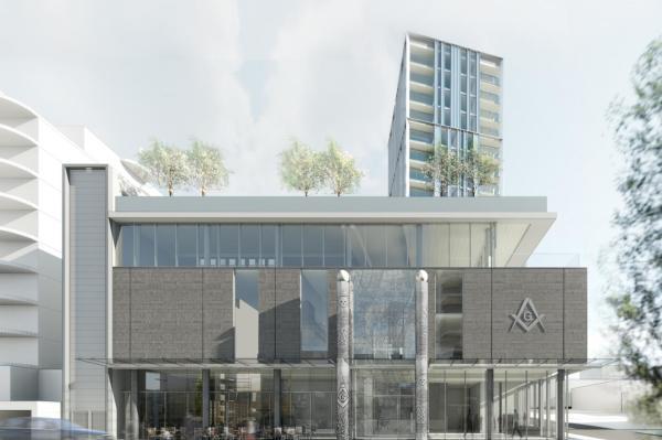 'Vancouver Masonic Centre' BC Housing - Vancouver, BC