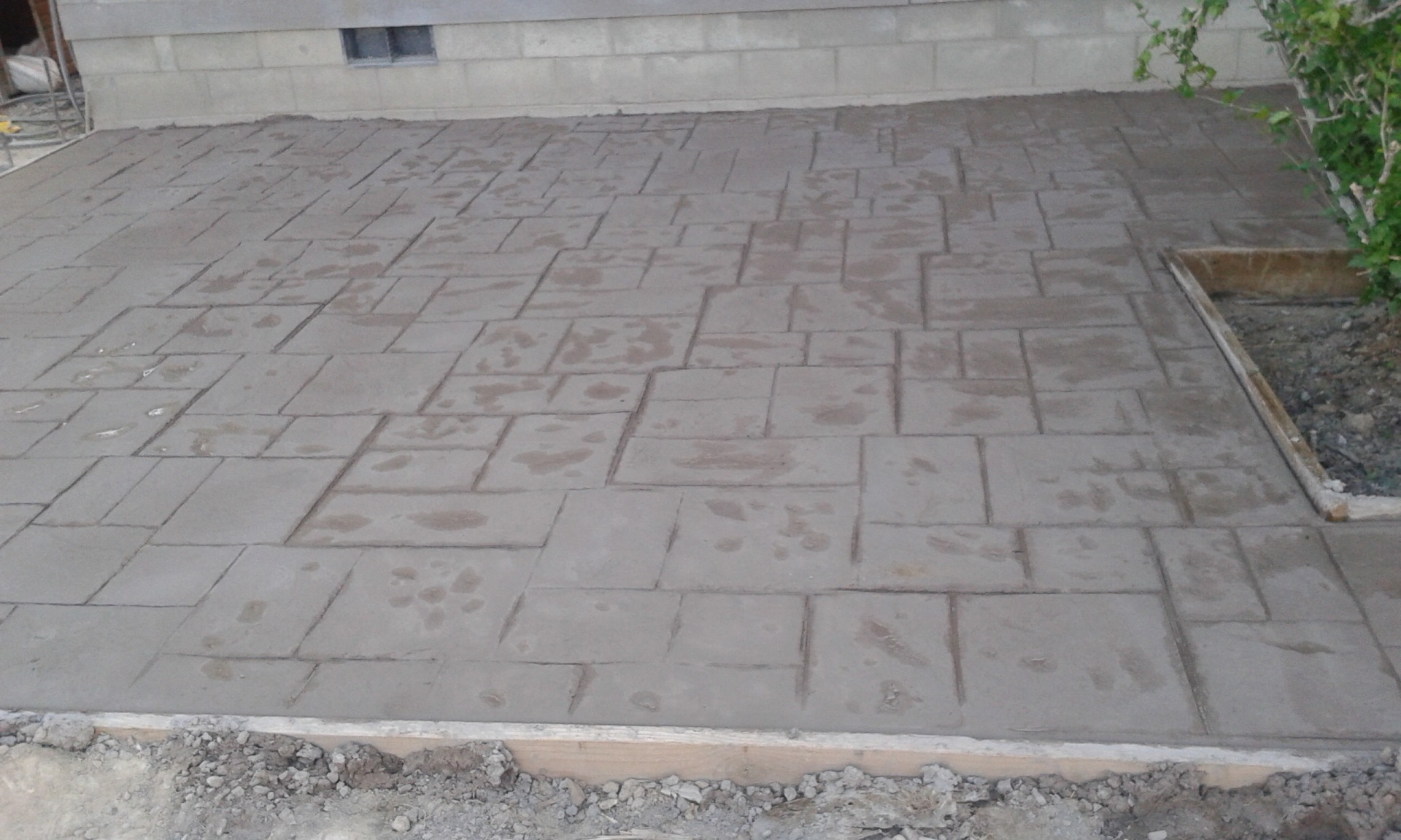 - Stamped Concrete -
