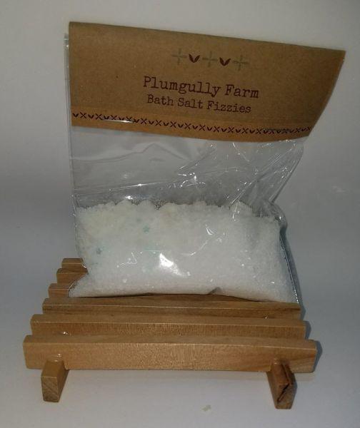 Peppermint Bath Fizzies
