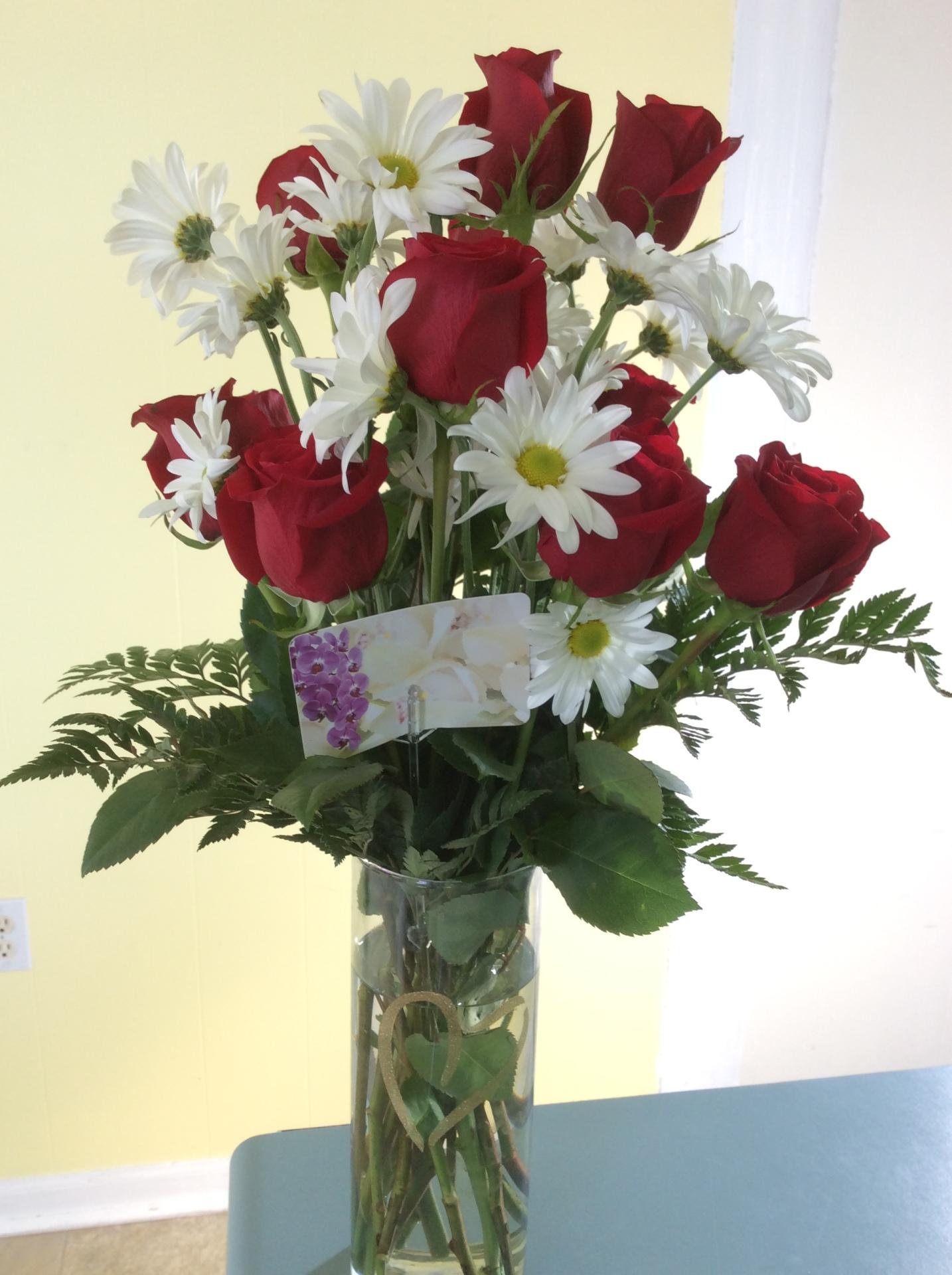 Rose/Daisy Vase
