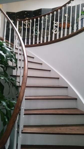 Stairwell Refinishing