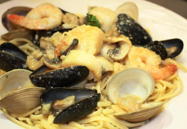 Seafood Combo.