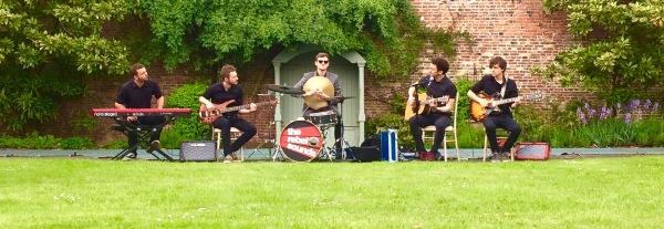The Rebel Sounds - Daytime drinks reception - Saltmarshe Hall